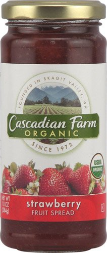 Cascadian Farms Organic Fruit Spread Strawberry -- 10 oz - 2 pc