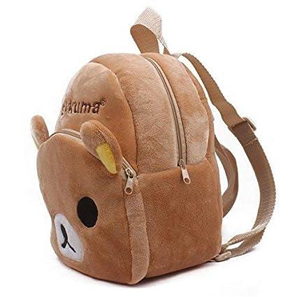 e102986d33ed Amazon.com  Gul Dealers Rilakkuma Bear Plush Backpack