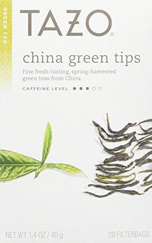 Tazo China Green Tips Green Tea, 20 Count (Pack of (Tazo Tea Gift)