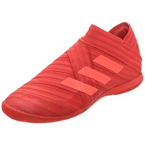 adidas Herren NEMEZIZ Tango 17+ in Fußballschuhe, Schwarz/Goldfarben Rot (Reacor/Redzes/Redzes)