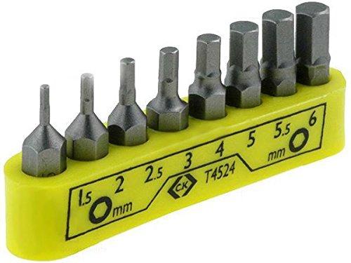 ck-4524 Set Screwdriver Bits, Carl Kammerling T4524, Allen Hex Key, 30 mm/FBA 30mm/FBA