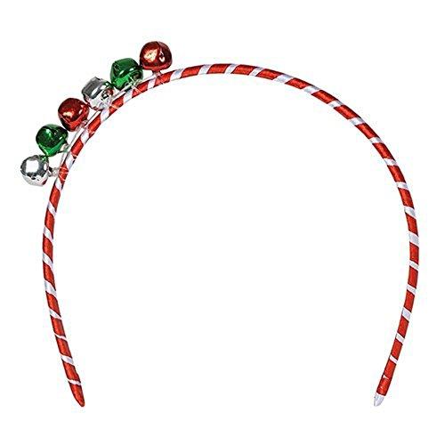 Christmas Jingle Bell Headband Approx