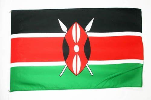 AZ FLAG Bandera de Kenia 90x60cm - Bandera KENIANA 60 x 90 cm: Amazon.es: Hogar