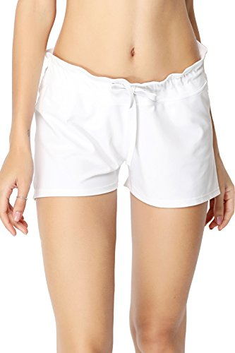 HOLYSNOW - Shorts - para mujer blanco