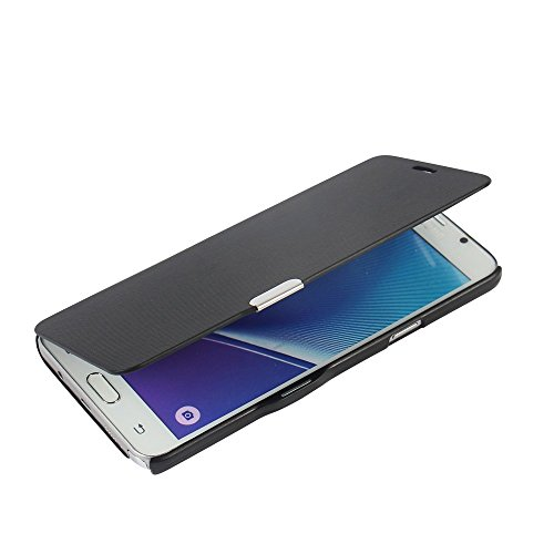 Slim Shockproof Case for Samsung Note 5 (Black) - 4