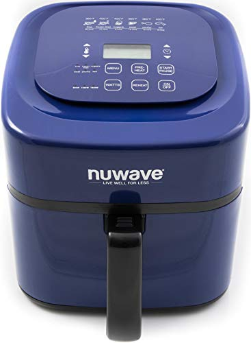 Nuwave 6 Qt. Brio Air Fryer- Blue (Daddy Grill Review)