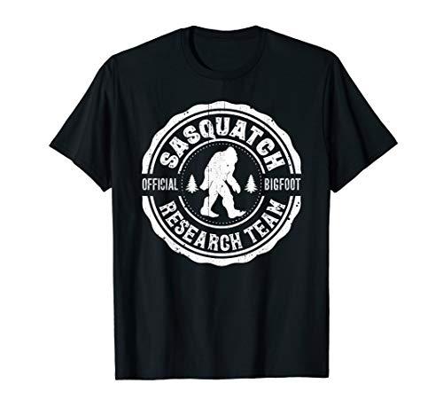 Bigfoot Shirt Finding Sasquatch Research Team Men Women -