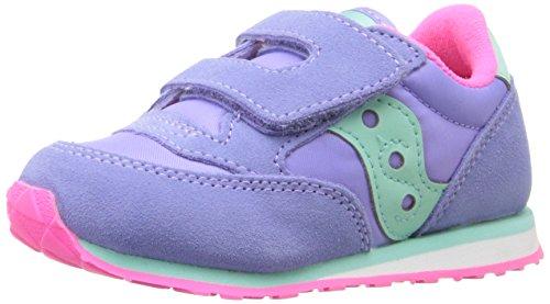 Saucony Jazz Hook & Loop Sneaker (Toddler/Little Kid), Periwinkle, 8.5 M US Toddler