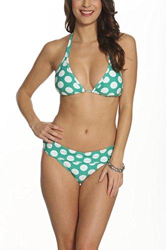 Green And White Bikini in Australia - 5