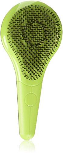 Michel Mercier Professional Quality Detangling Hair Brush For Normal Hair Green
