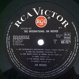 Jim Reeves - Jim Reeves / The International Jim Reeves - Zortam Music