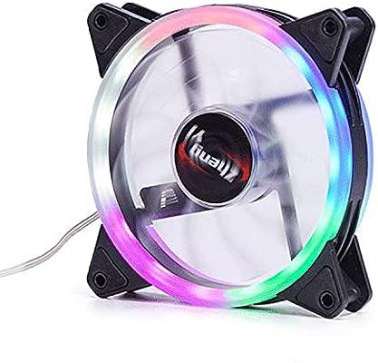 Vococal Ventiladores para PC RGB, Caja de Computadora Silenciosa ...