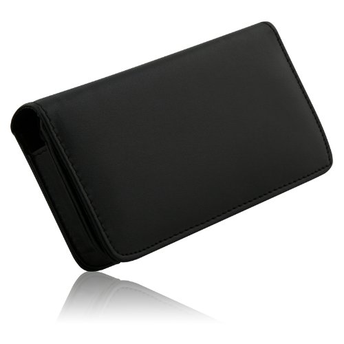 Eco 11792 Universal Smartphone Case for BlackBerry/Casion/Danger/HTC/Motorola/Pantech/Samsung/Sony Ericsson - 1 Pack - Retail Packaging - Black (Phone Ericsson Case Sony)