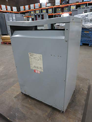 Cutler Hammer 50 kVA 480 Delta to 208Y/120 V48M28T50J 3PH Transformer 480V 208 Y