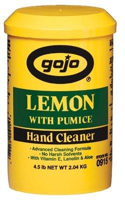 Gojo Industries 315-0915-06 Lemon Pumice Hand Cleaner, 4....
