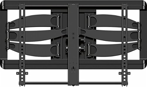 Sanus - Premium Series Full-Motion TV Wall Mount for Most 42