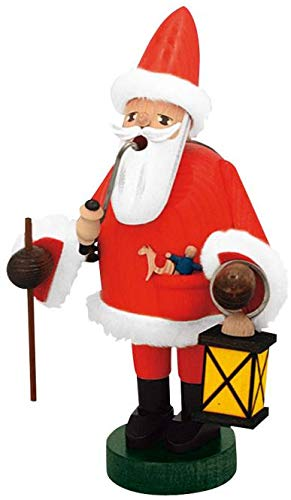 KWO Santa German Christmas Incense Smoker Handcrafted in Germany Decoration ()