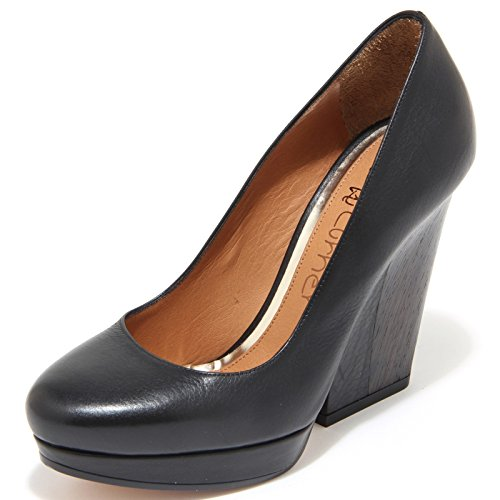 Turner Shoes 45440 Nero Women Scarpa Donna Decollete Eva OdRwq4xpR