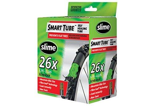 Slime 30045 Self-Sealing Smart Tube, Schrader Valve (26 x 1.75-2.125')