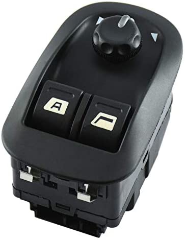 FFTH Electric Window Switch Mirror Button for Peugeot 206 306 Expert Jumpy Oe 6554WA