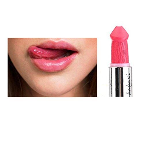 Fheaven Hot Sales Lipstick ,Women Sexy Penis Shape Lipstick Mushroom Vampire Kiss Lipgloss (G)
