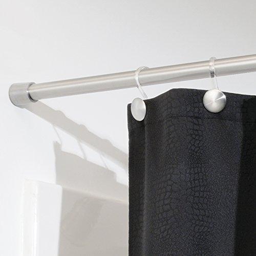 Interdesign Forma Constant Tension Bathroom Shower Curtain Rod 43 75 Medium Brushed