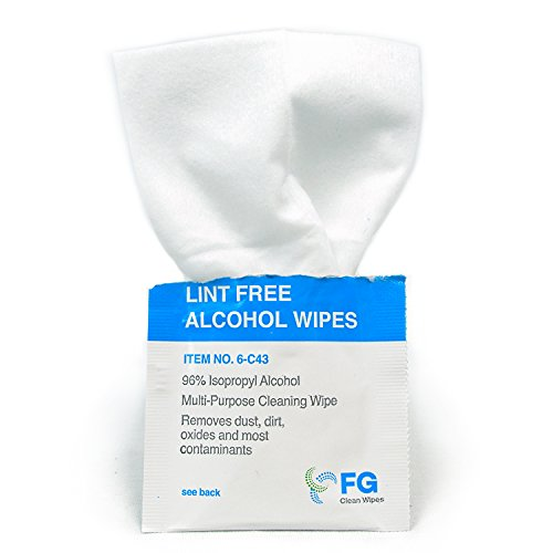 FG Clean Wipes 6-C43 Lint Free Presaturated Wipes (Box of 60) by FG Clean Wipes (Image #2)