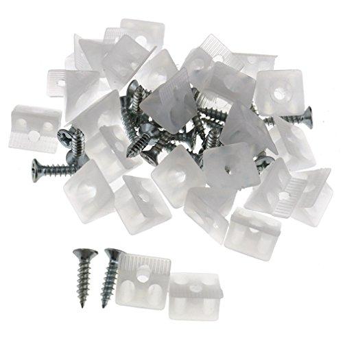 25 Set Furniture Chest Drawer Bottom Sagging Repair Fix Mend Mending Wedges ()