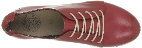 Women's Kickers Libero Rosso Rouge Shoes 1wq456q