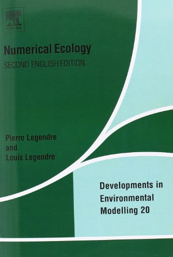 Numerical Ecology, 2nd Edition (Developments in Environmental Modelling, Vol. 20)