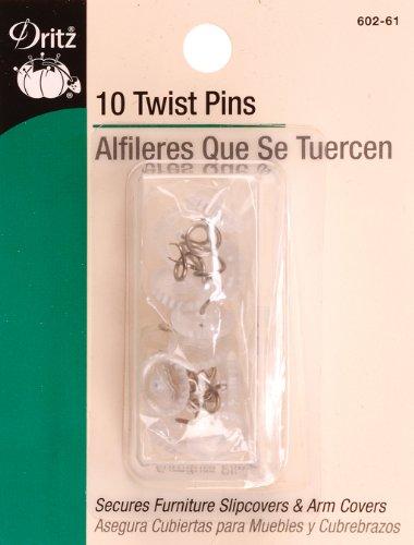 Dritz 602-61 Twist Pins (10-Count)