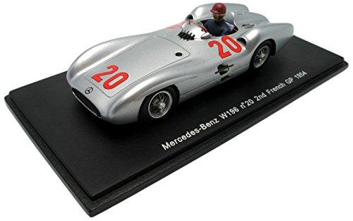 【Spark/スパーク】1/43 メルセデスベンツ W196 No.20 1954年フランスGP 2位の商品画像