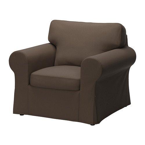IKEA 売店 EKTORP ndash; Slipcover for Armchair B018DL66AU Jonsbodaブラウン新しい カバーのみ 営業