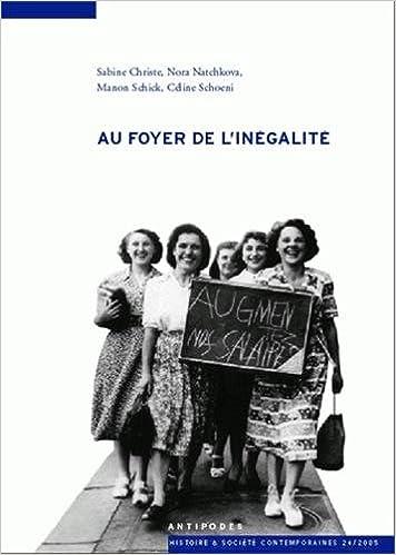 En ligne téléchargement Nouvelles Questions Féministes, Volume 24 - N° 1 : Au foyer de l'inégalité pdf