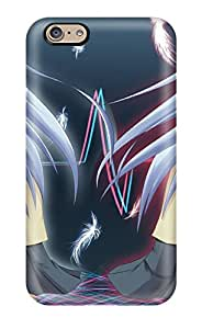 Special MING ZENG Skin Case Cover For Iphone 6, Popular Angel Beats Phone Case