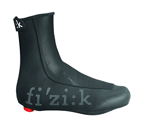 Fizik Winter Shoe Covers, Black, Large (41-42)
