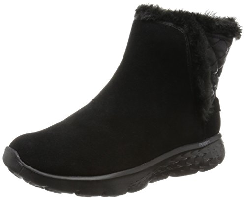 Skechers Performance Womens On The Go 400 Cozies Botte Dhiver Noir
