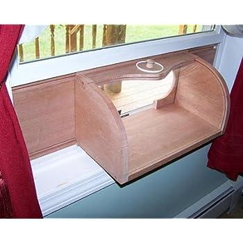 Amazon Com Coveside Bread Box Window Mount Bird Feeder