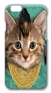 Bad Attitude Kitten PC Case Cover for iphone 6 plus and iphone 6 plus 5.5 inch 3D in GUO Shop