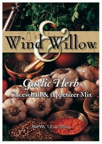 Willow Cheeseball - Wind & Willow Garlic Herb Cheeseball and Appetizer Mix 1.2oz (Pack of 6)