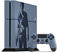 Sony PlayStation 4 Uncharted 4 500GB Limited Edition Console (Renewed)