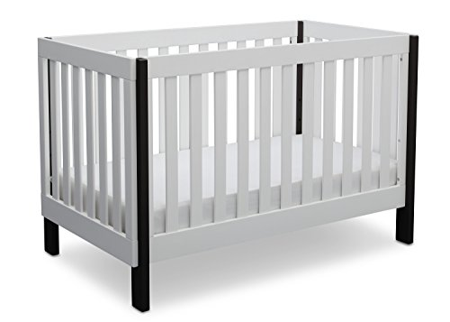 Delta-Children-Bellevue-3-in-1-Convertible-Crib-Bianca-with-Ebony
