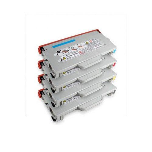 Sp C210sf Color - Ricoh CL1000N Color Set Compatible Toner Cartridge (K/C/M/Y) 402070 402071 402072 402073 For Ricoh Aficio CL800, CL1000N, SP C210SF By Tonerdeal