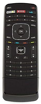 Vizio Smart TV Remote Control XRV1TV 3D XRT301 with keyboard Vudu Amazon Netflix APPs