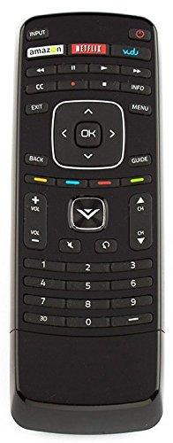 XRV1TV 3D XRT301 Remote Control Compatible Vizio Smart TV with Keyboard Vudu Amazon Netflix APPs