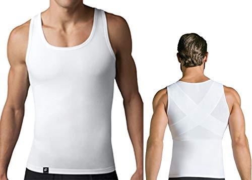 Slim Compressão Postura Modeladora Masculina