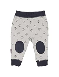 Blue Banana Baby Boys Play Pants, Grey Print, 18 Months