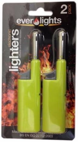Verde 2 X Mini Clipper cocina barbacoa encendedor recargable llama ...