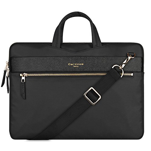 13 inch Laptop Bag, College Business  Briefcase Laptop Sleeve Case 12-13.3 inch Laptop Shoulder Messenger Bag  for Apple MacBook Pro 13/ ASUS Lenovo HP Acer Chromebook Ultrabook 13 -  Black