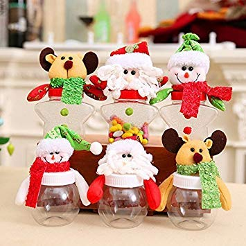 Christmas Candy Decorations.Decorative Buckets Christmas Gifts Christmas Candy Jar